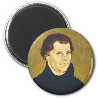 Protestant Reformist Martin Luther by L Cranach Fridge Magnet