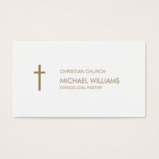 Protestant target cures catholic shepherd religion business card