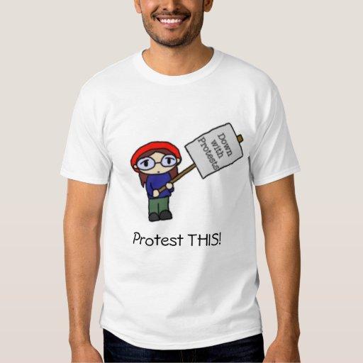 ¡Proteste ESTO! Playeras