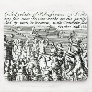 Protesters in Edinburgh 1637 Mousepads