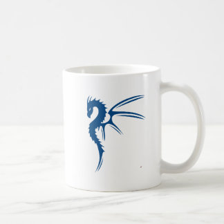 Prothero el dragón azul taza de café
