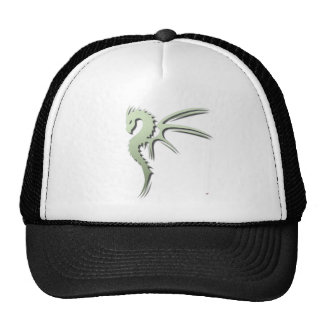 Prothero el dragón verde metálico gorra