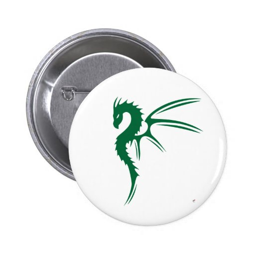 Prothero the Green Dragon 2 Inch Round Button