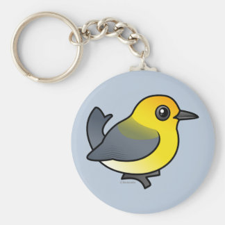 Prothonotary Warbler Keychain