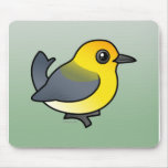 Prothonotary Warbler Mouse Pads