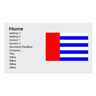 Protivin, checo tarjetas de visita