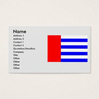 Protivin, Czech Business Card