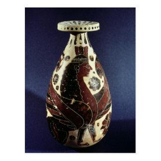 Proto-Corinthian style vase with a sphinx Postcard