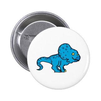 Protoceratops Pin Redondo 5 Cm