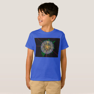 Proton Collisions at the LHC kid's t-shirt