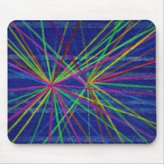 Proton Collisions Mouse Pad