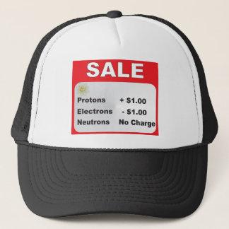 protons electrons neutrons sale trucker hat