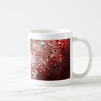 Protoplasm abstract digital design coffee mug