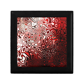 Protoplasm abstract digital design jewelry boxes