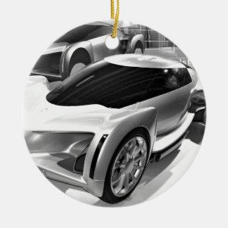 Prototipo de General Motors Adorno Navideño Redondo De Cerámica