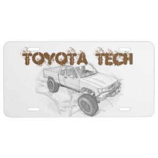 Prototype #3 license plate