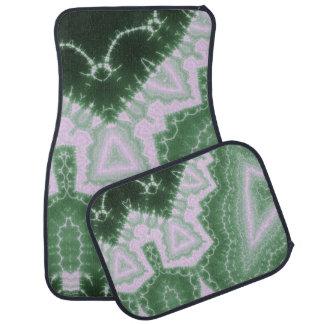 Protozoa - fractal art car floor mat