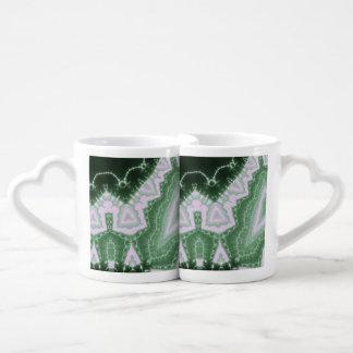 Protozoa - fractal art coffee mug set