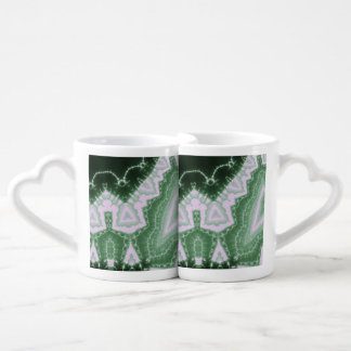 Protozoa - fractal art couples coffee mug