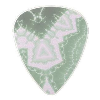 Protozoa - fractal art polycarbonate guitar pick