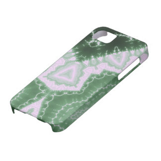 Protozoos - arte del fractal iPhone 5 Case-Mate protectores