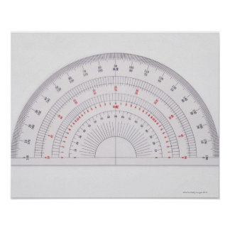 Protractor Poster