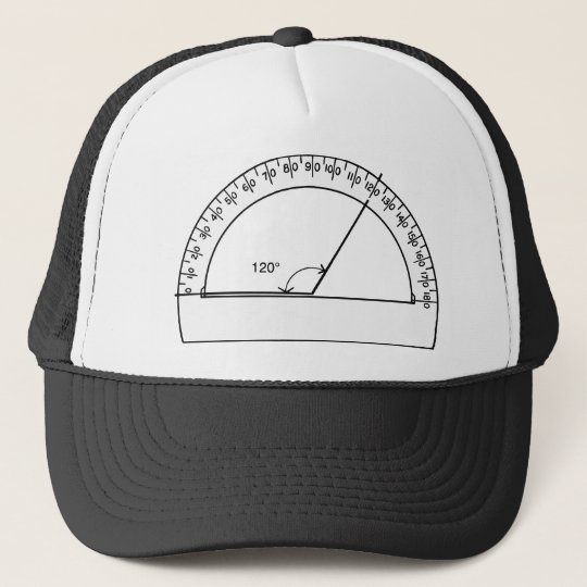 Protractor Power Trucker Hat