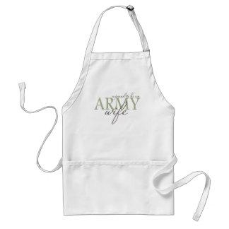proud2beanarmywife adult apron