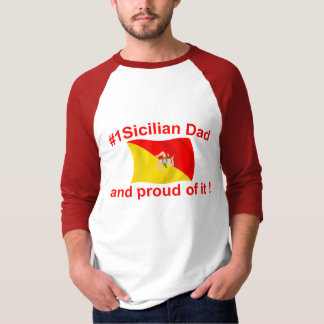 Proud #1 Sicilian Dad T-Shirt