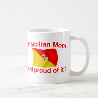 Proud #1 Sicilian Mom Coffee Mug
