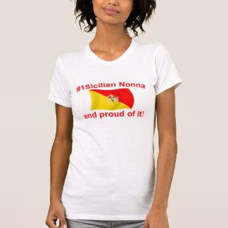 Proud #1 Sicilian Nonna Tee Shirts