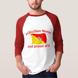 Proud #1 Sicilian Nonno T-Shirt