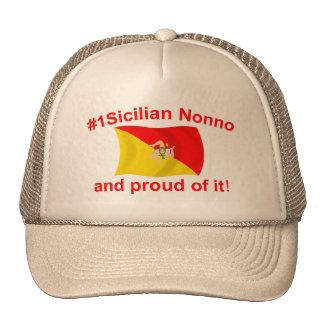 Proud #1 Sicilian Nonno Trucker Hat