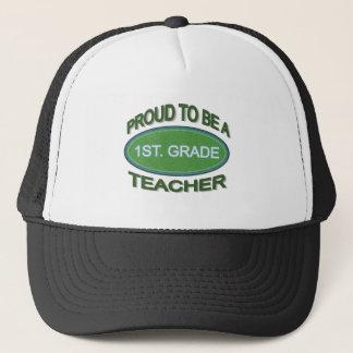 Proud 1st. Grade Teacher Trucker Hat