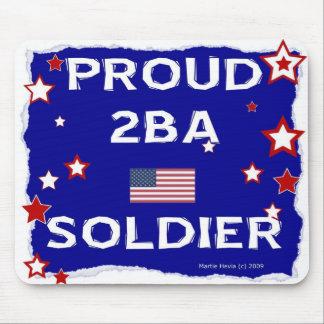 Proud 2BA Soldier - Mousepad