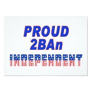 Proud 2BAn Independent Card