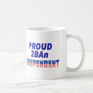 Proud 2BAn Independent Coffee Mug