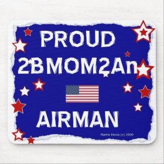 Proud 2BMOM2An Airman - Mousepad
