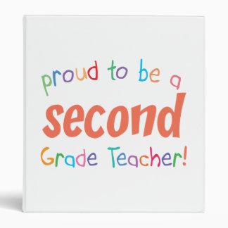 Proud 2nd Grade Teacher Binder
