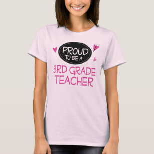 Proud 3rd Grade Teacher Gifts On Zazzle