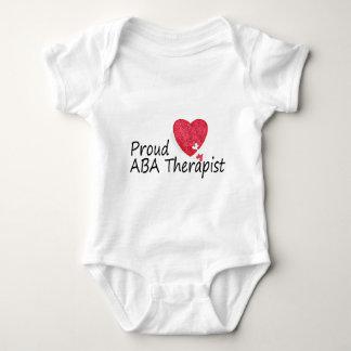 Proud ABA Therapist Baby Bodysuit
