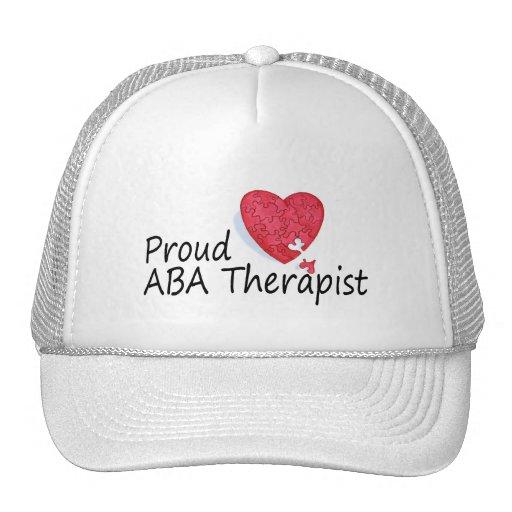 Proud ABA Therapists (Heart) Mesh Hats