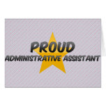 Proud Administrative Assistant Greeting Card