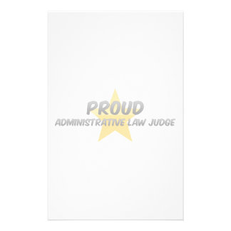 Proud Administrative Law Judge Stationery Design
