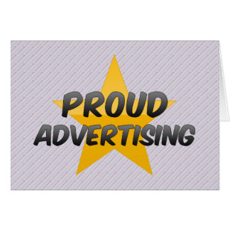 Proud Advertising Cards