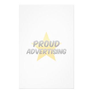 Proud Advertising Customized Stationery