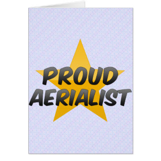 Proud Aerialist Card