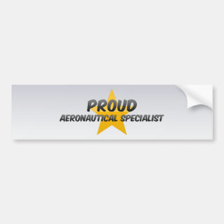 Proud Aeronautical Specialist Bumper Sticker