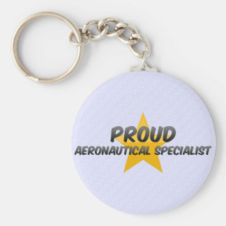 Proud Aeronautical Specialist Keychain