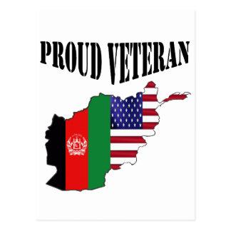 Proud Afghanistan veteran Postcards
